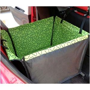 Автогамак на половину заднего сидения с защитой