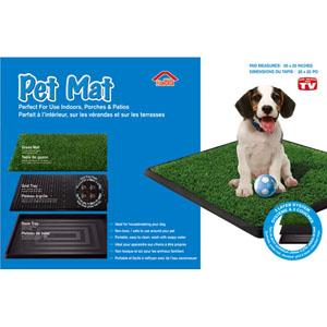 Запасной коврик «травка» для туалета Pet Mat 50*76