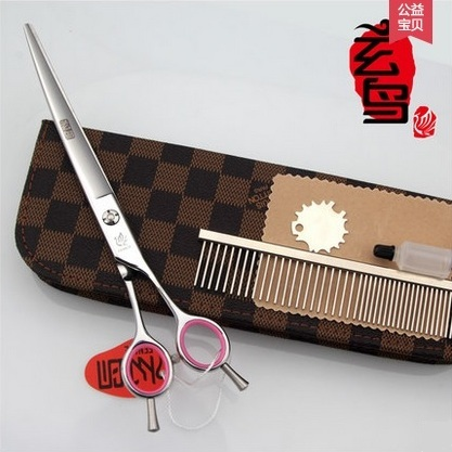 Ножницы изогнутые вправо FENICE 8 дюймов Q-80 440С