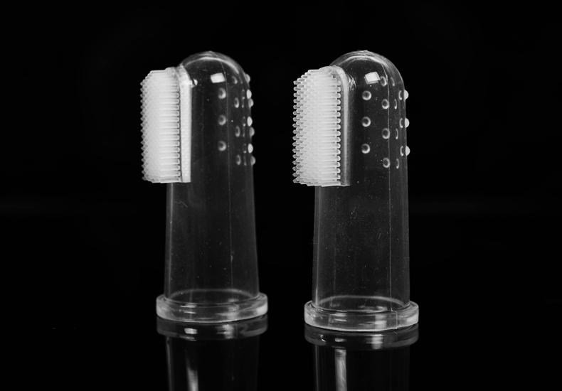 Зубная щетка на палец HooPet
