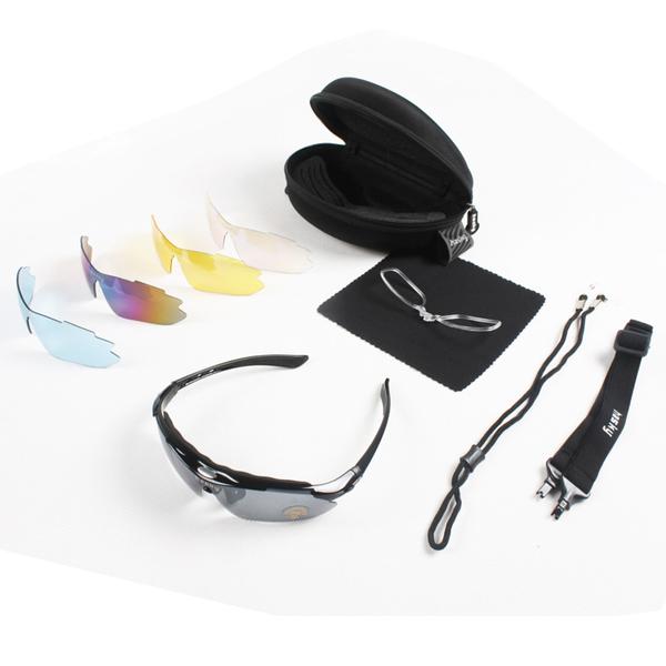 Очки солнцезащитные со сменными стеклами Hasky