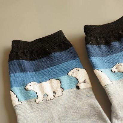 Носки женские Белый Медведь, размер 35-39