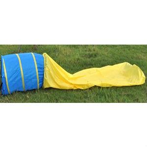 Тоннель для аджилити, желто-голубой 2,9 м / 50 см
