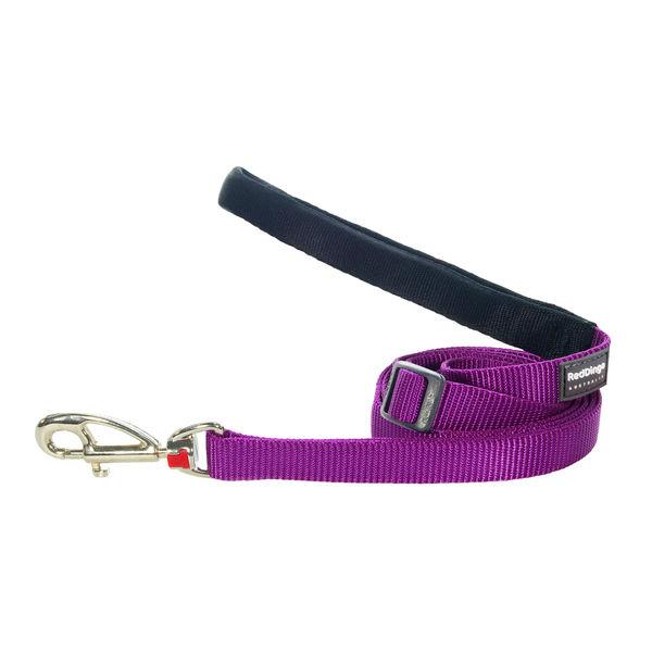 Поводок с мягкой ручкой Red Dingo фиолетовый, 15