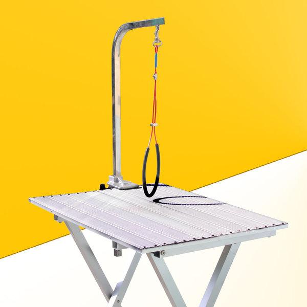 Стол грумерский складной-раздвижной 60*43*79 синий/розовый 3,6 кг