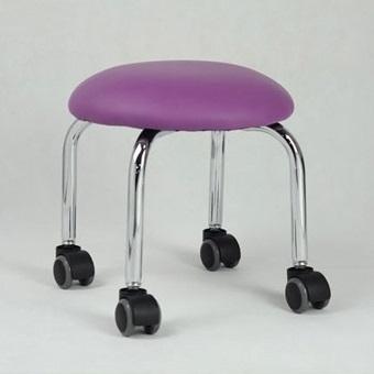 Стул для мастера, фиолетовый, 32 см