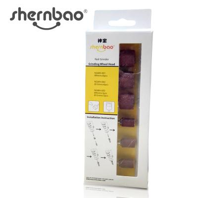 Комплект сменных насадок для гриндера Aeolus/Toex/Shernbao (6 шт.)