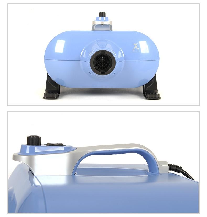 Компрессор двухмоторный HOOPET/ Shernbao 3000 Ватт голубой