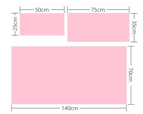 Полотенце махровое из микрофибры с рисунком 50*25, малый размер