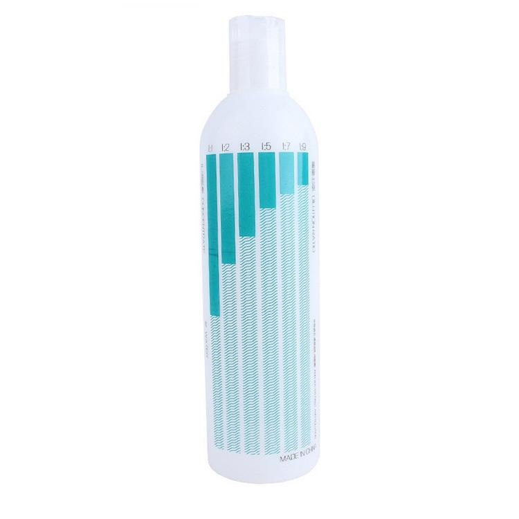 Бутылка для смешивания косметики 400 мл с рисунком Чау-Чау