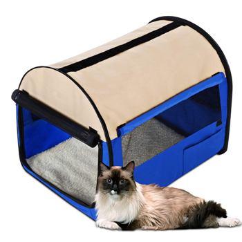 Палатка выставочная для кошек и собак 60*46*50 / размер М