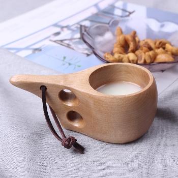 Кружка-кукса финская деревянная 160 мл