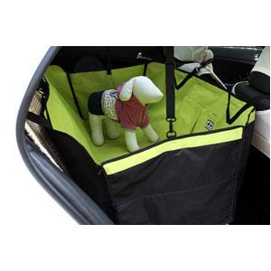 Защитный автогамак зеленый Treasure Pet
