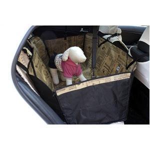 Защитный автогамак коричневый Treasure Pet