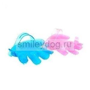Рукавица массажная для собак и кошек, 12*12*2 см