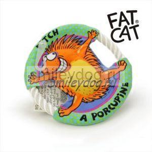 Игрушка ДИКОБРАЗ Fat Cat летающий диск 16 см