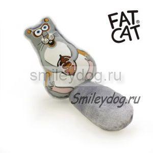 Игрушка БЕЛКА Fat Cat с пищалкой