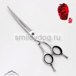 Ножницы изогнутые вправо FENICE 7 дюймов Q-65 440C