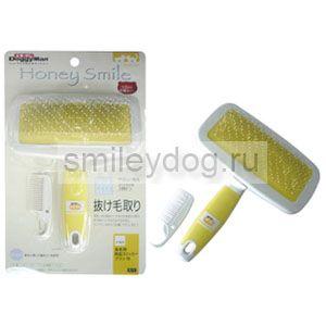 Пуходёрка DoggyMan HS-90 (S) средняя желтая
