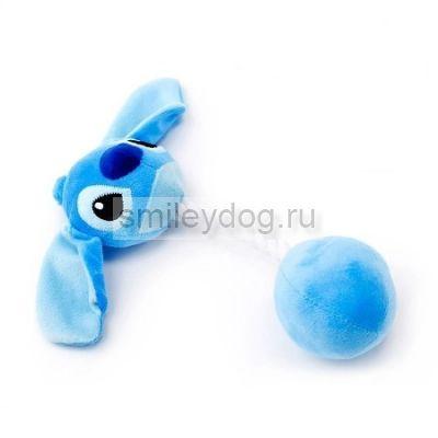Игрушка СТИЧ голубой/розовый с пищалкой