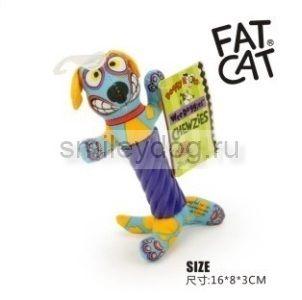 Игрушка СОБАЧКА Fat Cat для маленьких собак, 16*9*3 см