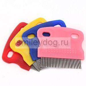 Расческа «гребень» для собак и кошек, арт. 140220
