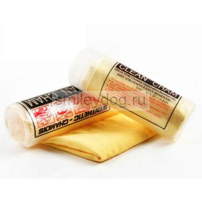 Полотенце-замша CLEAN CHAM в пенале, малый размер 43*32