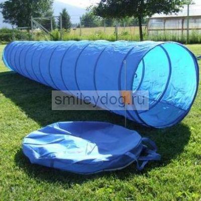 Тоннель для аджилити, голубой 5 м / 60 см