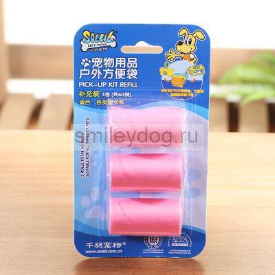Сменные рулоны гигиенических пакетов Soleil
