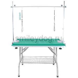 Стол грумерский складной 110*60*65 Chun Zhou 01-N с П-образным держателем