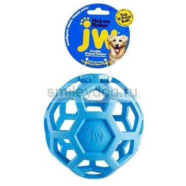 Игрушка для собак Мяч сетчатый JW, каучук, 14 см
