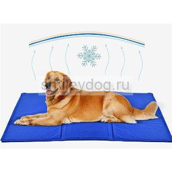 Коврик охлаждающий для собак, 96*81, синий