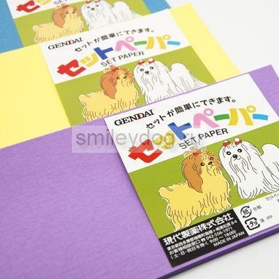 Бумага для папильоток рисовая Gendai Япония
