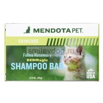 Шампунь твердый DERMagic розмарин для кошек FELINE Rosemary Shampoo Bar