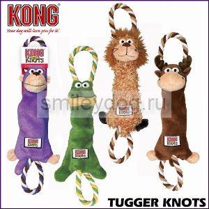 Kong Tugger Knots  игрушка для перетягивания